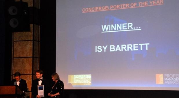 Isy Barrett is named UK's best porter