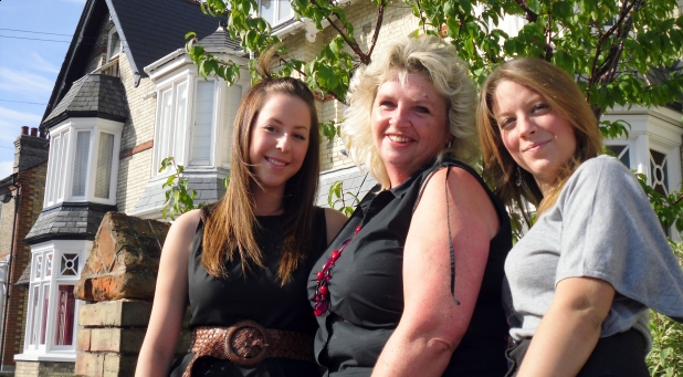 Here come the girls!... Scarlet, Mitzi and Jade join Accent Property