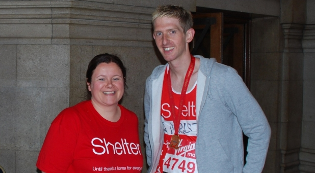 London Marathon effort raises over £1,700 for charity!