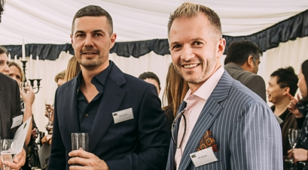 Directors Stephen Chard and Neil Robinson