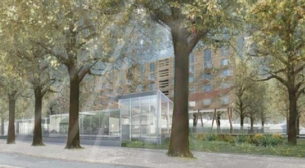 Former Howard Mallett Centre redevelopment